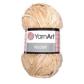 Пряжа Yarnart Velour - 843 песок, Цвет: 843 песок