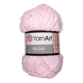 Пряжа Yarnart Velour - 854 светло-розовый, Цвет: 854 светло-розовый