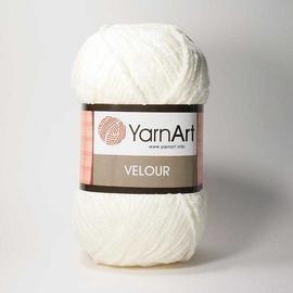 Пряжа Yarnart Velour - 841 кремовый, Цвет: 841 кремовый