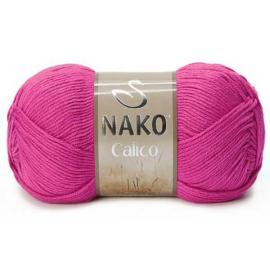 Пряжа Nako Calico - 4569 мальва, Цвет: 4569 мальва