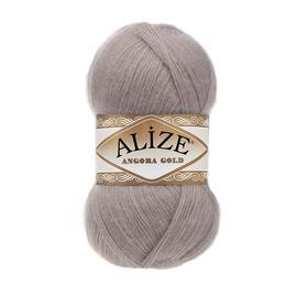 Пряжа Alize Angora Gold - 506 молочно-бежевый, Цвет: 506 молочно-бежевый