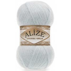 Пряжа Alize Angora Gold - 514 бл.голубой, Цвет: 514 бл.голубой