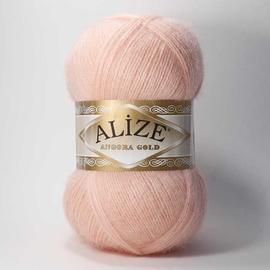 Пряжа Alize Angora Gold - 363 светло-розовый, Цвет: 363 светло-розовый