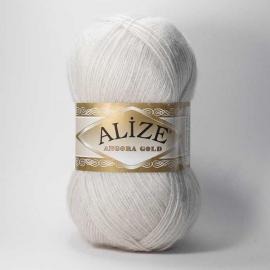 Пряжа Alize Angora Gold - 599 св.норка, Цвет: 599 св.норка