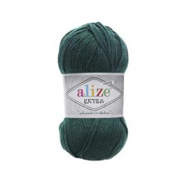 Пряжа Alize Extra - 598 зеленая трава, Цвет: 598 зеленая трава