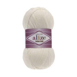 Пряжа Alize Cotton Gold - 62 молочный, Цвет: 62 молочный