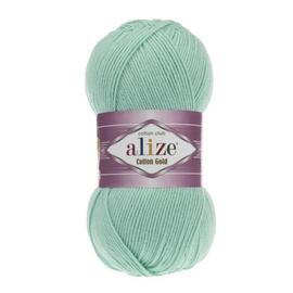 Пряжа Alize Cotton Gold - 15 зел. бирюза, Цвет: 15 зел. бирюза