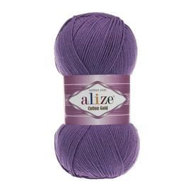 Пряжа Alize Cotton Gold - 44 фиолетовый, Цвет: 44 фиолетовый