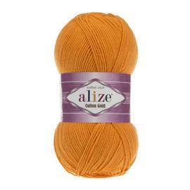 Пряжа Alize Cotton Gold - 83 яр.оранжевый, Цвет: 83 яр.оранжевый