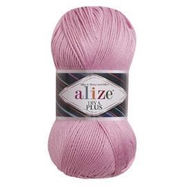 Пряжа Alize Diva Plus - 98 розовый, Цвет: 98 розовый