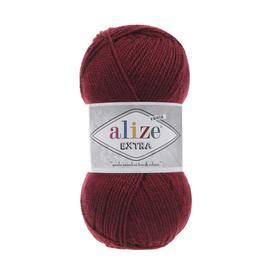 Пряжа Alize Extra - 57 бордовый, Цвет: 57 бордовый