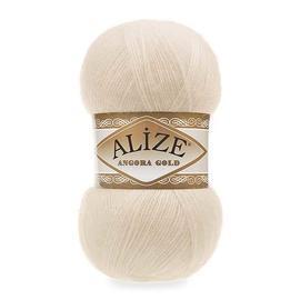 Пряжа Alize Angora Gold - 67 молочно-бежевый, Цвет: 67 молочно-бежевый