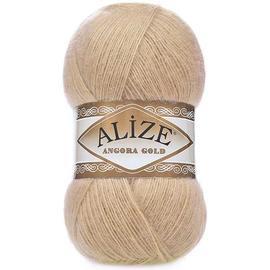 Пряжа Alize Angora Gold - 95 бежевый, Цвет: 95 бежевый