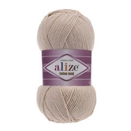 Пряжа Alize Cotton Gold - 67 светло-бежевый, Цвет: 67 светло-бежевый