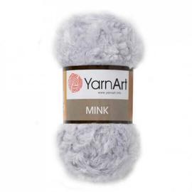 Пряжа Yarnart Mink - 334 кристалл, Цвет: 334 кристалл