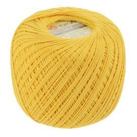 Пряжа Yarnart Lily - 6347 желтый, Цвет: 6347 желтый