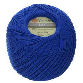 Пряжа Yarnart Lily - 4915 васильковый, Цвет: 4915 васильковый