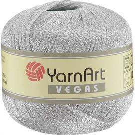 Пряжа Yarnart Vegas - 41 серебро, Цвет: 41 серебро