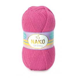 Пряжа Nako Elit Baby - 5278 розовый, Цвет: 5278 розовый