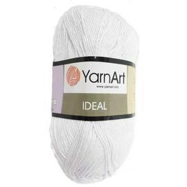 Пряжа Yarnart Ideal - 220 белый, Цвет: 220 белый