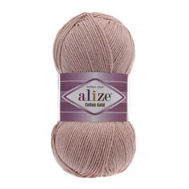 Пряжа Alize Cotton Gold - 161 пудра, Цвет: 161 Пудра