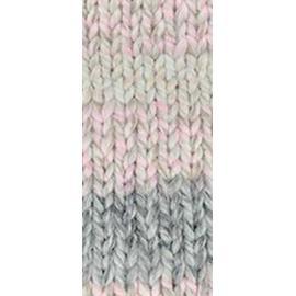 Пряжа Nako Lora - 28105 серо-розовый меланж, Цвет: 28105 серо-розовый меланж