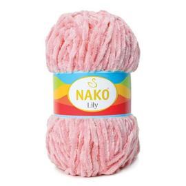 Пряжа Nako Lily - 4867 розовый, Цвет: 4867 розовый