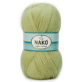 Пряжа Nako Super Mohair - 1060 липа, Цвет: 1060 липа