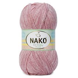 Пряжа Nako Elit Baby Muare - 32153 тем.роза, Цвет: 32153 тем.роза