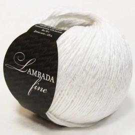 Пряжа Seam Lambada Fine - 01 белый, Цвет: 01 белый