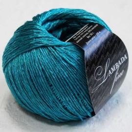 Пряжа Seam Lambada Fine - 16 лагуна, Цвет: 16 лагуна