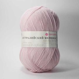 Пряжа Пехорка Австралийский Меринос - 374 розовый беж, Цвет: 374 розовый беж