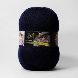Пряжа Color-City Муза - 2331 темно-синий, Цвет: 2331 темно-синий