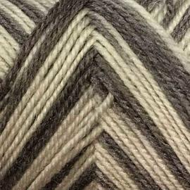 Пряжа Color-City Yak Wool (Як Вул) - 963 бело/серый принт, Цвет: 963 бело/серый принт