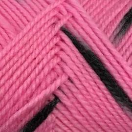 Пряжа Color-City Yak Wool (Як Вул) - 4822 ярко-розовый с черточками, Цвет: 4822 ярко-розовый с черточками
