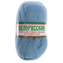 Пряжа Камтекс Белорусская - 015 голубой, Цвет: 015 голубой