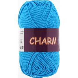 Пряжа Vita Cotton Charm - 4172 голубая бирюза, Цвет: 4172 голубая бирюза