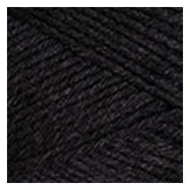 Пряжа Yarnart Eco Cotton Xl - 761 черный, Цвет: 761 черный
