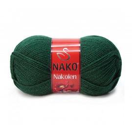 Пряжа Nako Nakolen - 3601 изумруд, Цвет: 3601 изумруд