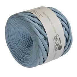 Пряжа Saltera Трикотажная Пряжа Saltera - 107 голубой меланж, Цвет: 107 голубой меланж