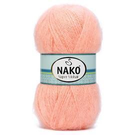 Пряжа Nako Super Mohair - 1292 персик, Цвет: 1292 персик