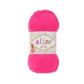 Пряжа Alize Diva Baby - 121 розовый, Цвет: 121 розовый
