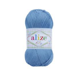 Пряжа Alize Diva Baby - 24 т.голубой, Цвет: 24 т.голубой