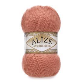Пряжа Alize Angora Gold - 102 розово-бежевый, Цвет: 102 розово-бежевый