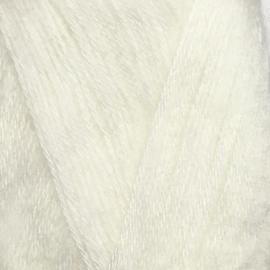 Пряжа Jina Мохер Премиум - 150 белый, Цвет: 150 белый