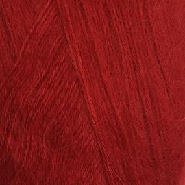 Пряжа Jina Мохер Премиум - 160 красный, Цвет: 160 красный