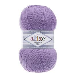 Пряжа Alize Lanagold 800 - 166 сиреневый, Цвет: 166 сиреневый