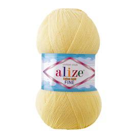 Пряжа Alize Cotton Gold Fine - 187 св.лимон, Цвет: 187 св.лимон
