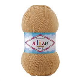 Пряжа Alize Cotton Gold Fine - 262 бежевый, Цвет: 262 бежевый