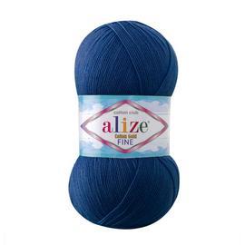Пряжа Alize Cotton Gold Fine - 279 синий, Цвет: 279 синий